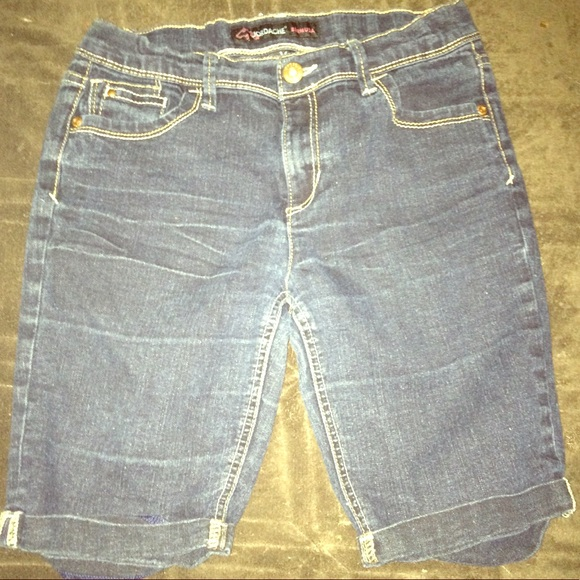 Other - Dark Blue Bermuda Shorts